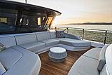 Princess X95/02 yacht foredeck