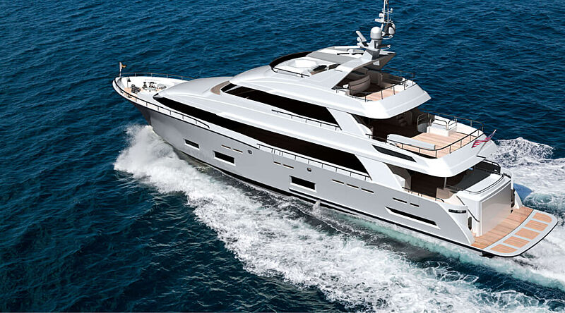 Cheoy Lee 118 Tradition yacht exterior design
