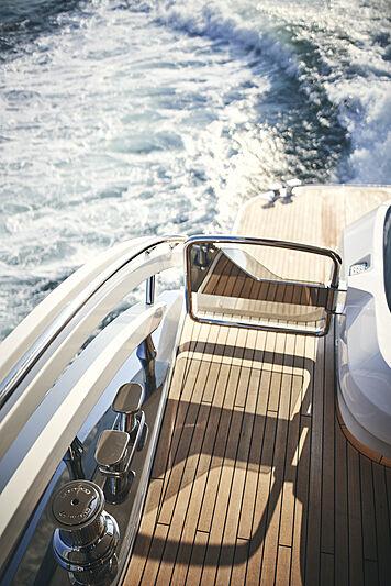Princess X95/02 yacht exterior detail
