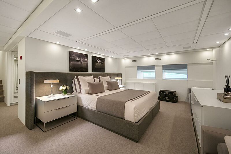 Pure One yacht stateroom