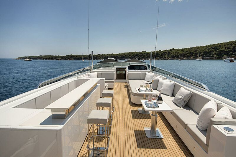 Pure One yacht deck