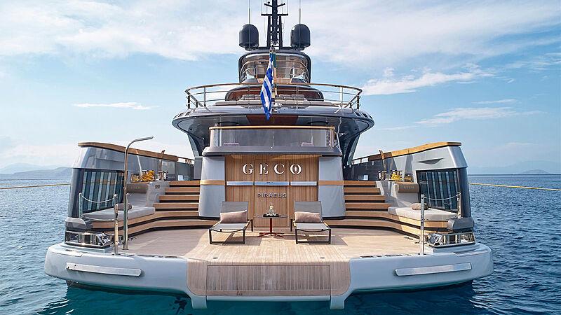 Geco yacht stern