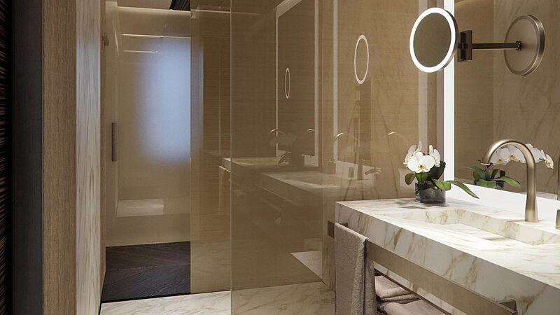 Geco yacht bathroom