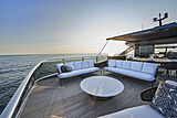 Princess X95/02 yacht sun deck