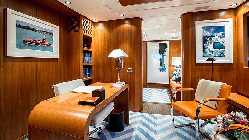 Revelry yacht study