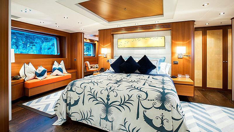 Revelry yacht stateroom
