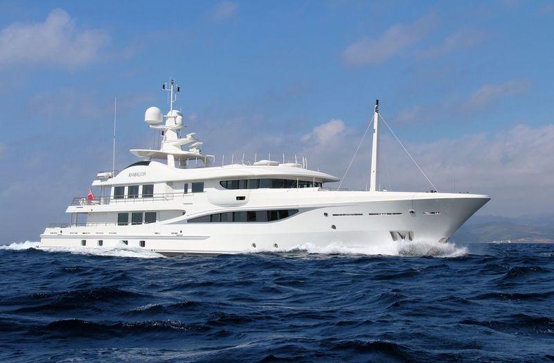 KAMALAYA yacht Amels