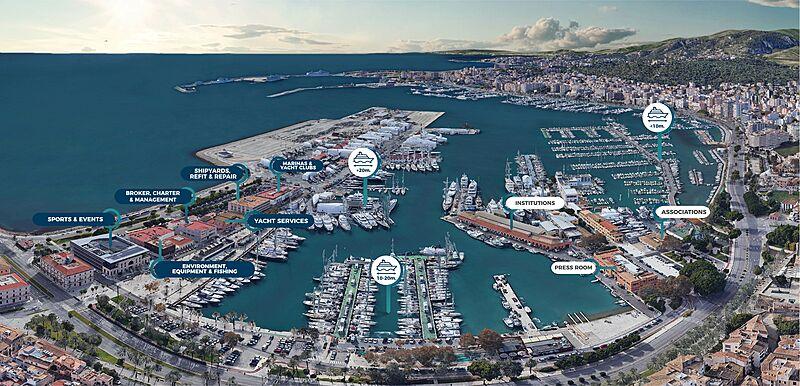 Balearic Yacht Show 2020 map