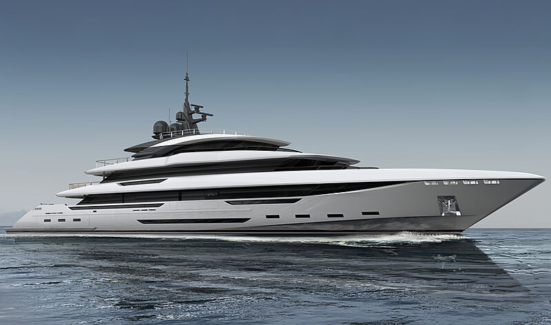 King Shark yacht exterior design