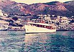 Ismini III yacht at Hydra late 1970s