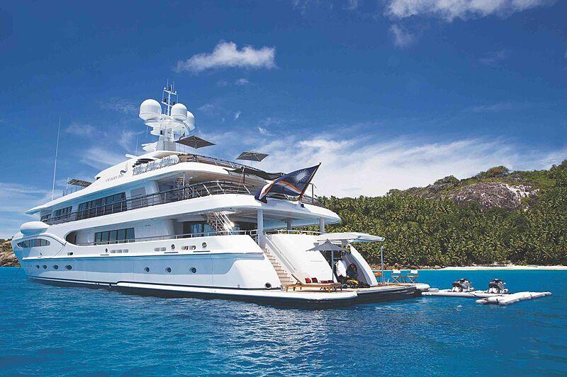 Sea Rhapsody yacht in Seychelles