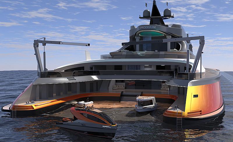 Prodigium yacht concept