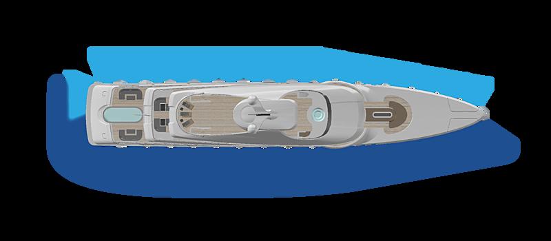 OceanLED underwater light comparison graphic