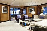 White yacht saloon