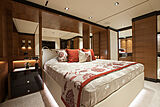 White yacht stateroom