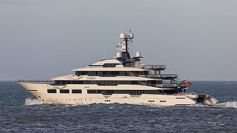 DreAMBoat yacht by Oceanco