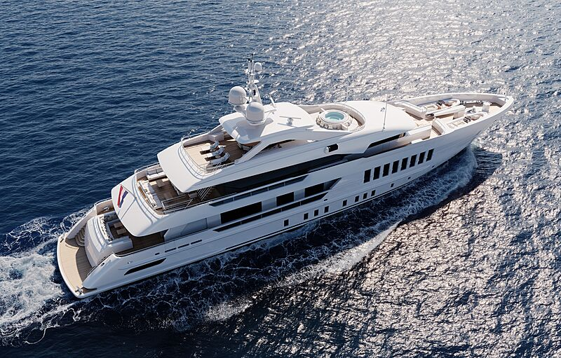 Gemini yacht exterior design