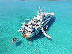 BG yacht anchored with toys