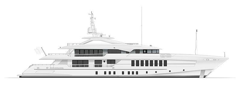 Gemini yacht General Arrangement plan