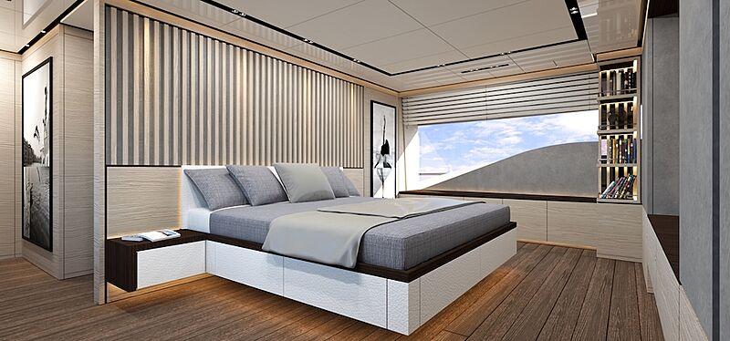 Gulu II yacht interior rendering