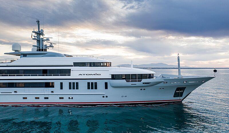 Atomic yacht by VSY in Viareggio