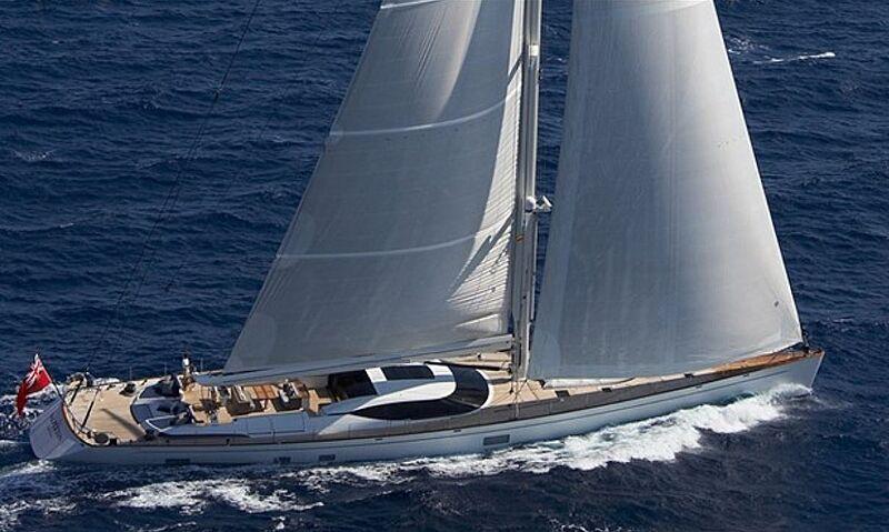 Artemis yacht sailing