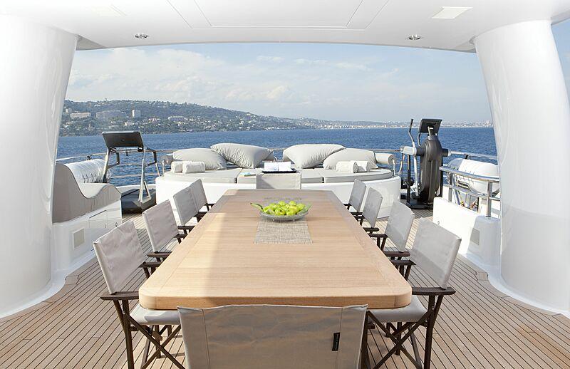 Spirit yacht sun deck