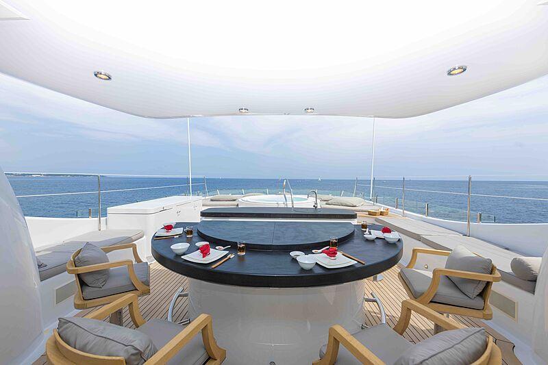 Spirit yacht aft deck