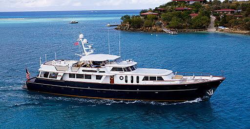 CHANTICLEER yacht Burger Boat Company