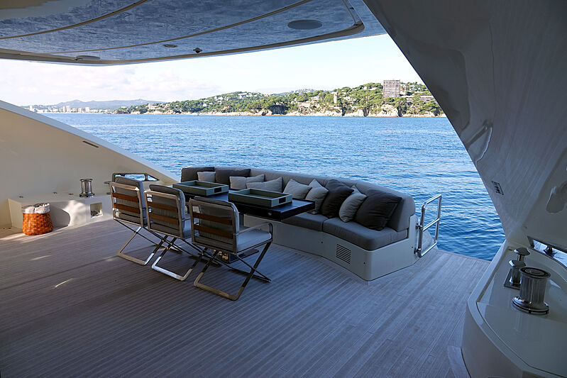 Il Gattopardo yacht exterior deck