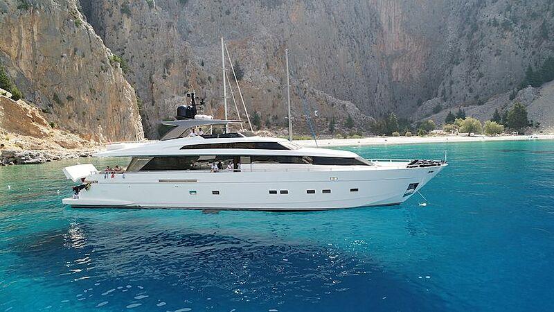 Lexsea yacht anchored