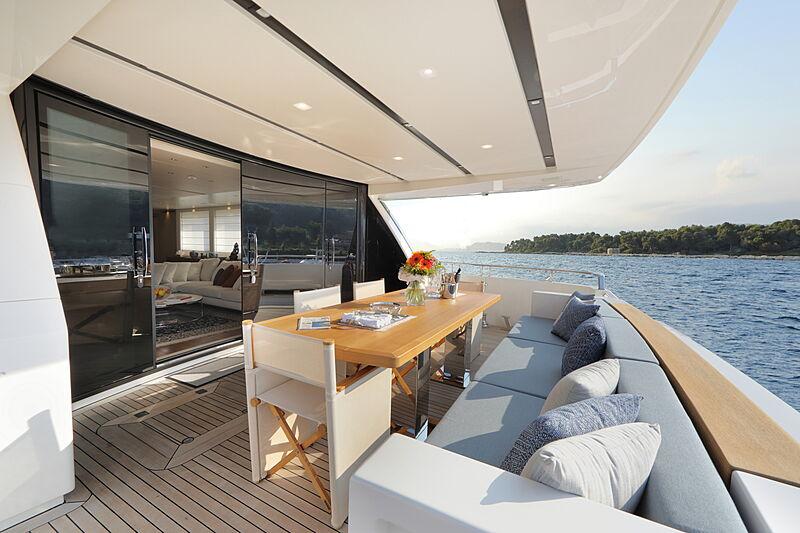 Stella yacht deck