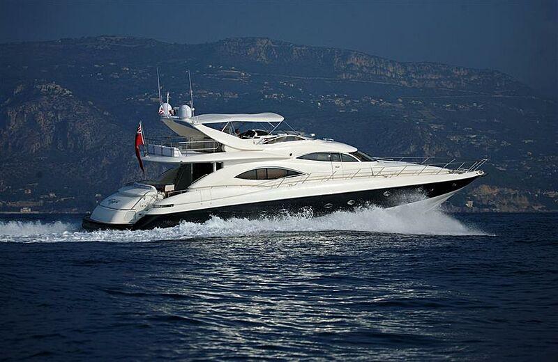 RUFF ONE yacht Sunseeker