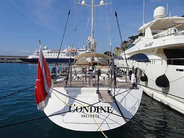L'Ondine yacht in Nice