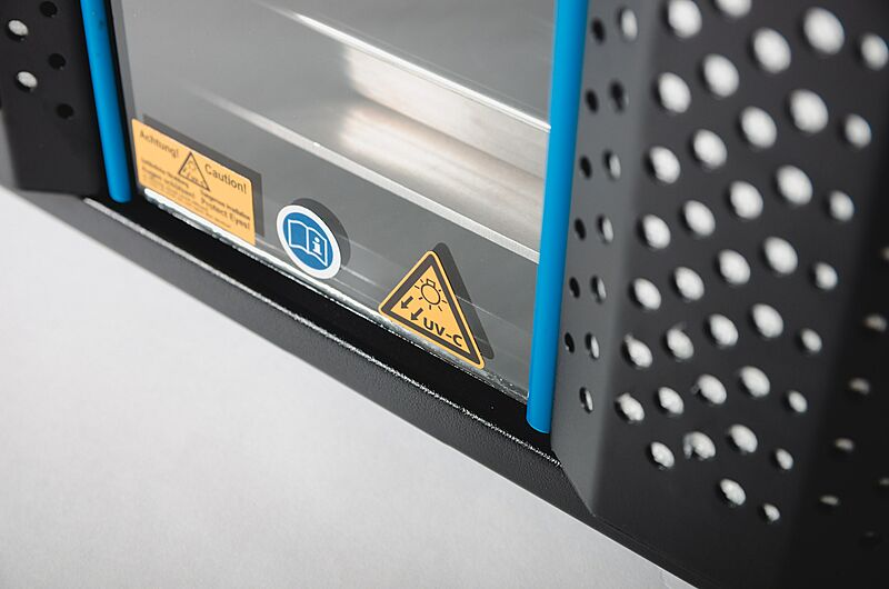 UV-C air ventilation system