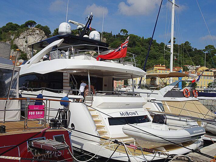 Mibowt yacht in Nice