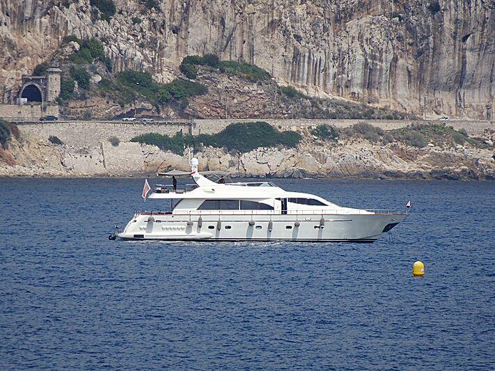 Serendipity Blue yacht in Beaulieu-sur-Mer
