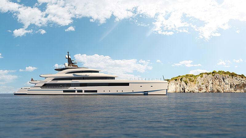 Rinascimento yacht exterior design