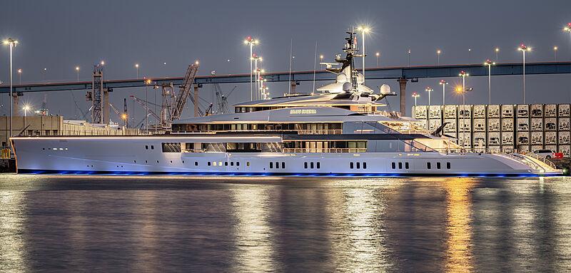 Bravo Eugenia yacht by Oceanco in San Diego, USA