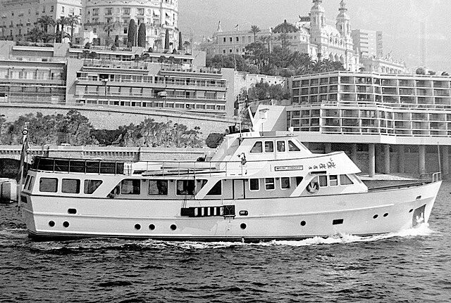 Welsh Conquest yacht at Monaco