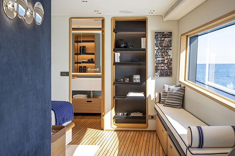 Custom Line Navetta 30 hull 01 yacht stateroom