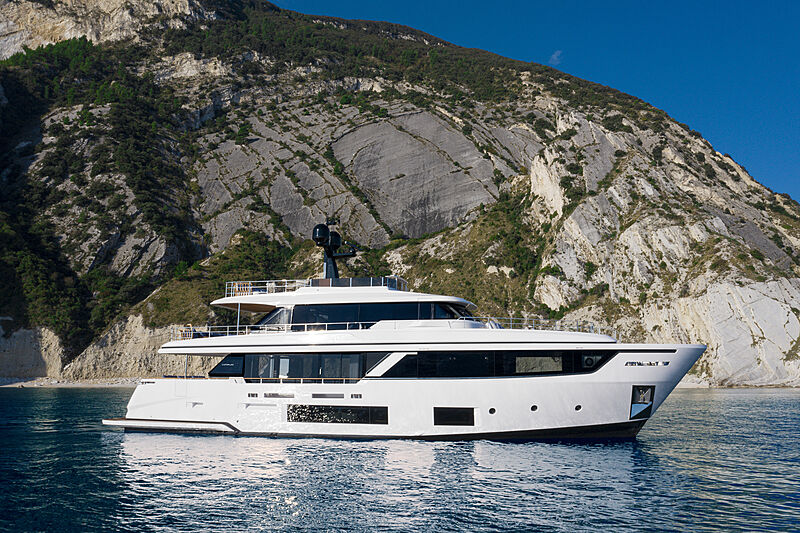 Top interior design features of the Custom Line Navetta 30 by Patricia Viel