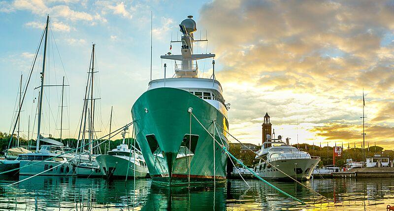 MMM yacht by Amels in Gaeta, Italy