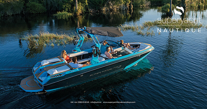 Nautique waterski, wakeboard and wakesurf boats