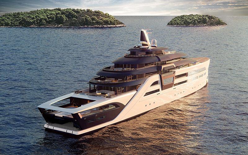 Ultra2 yacht concept by T. Fotiadis Design exterior design