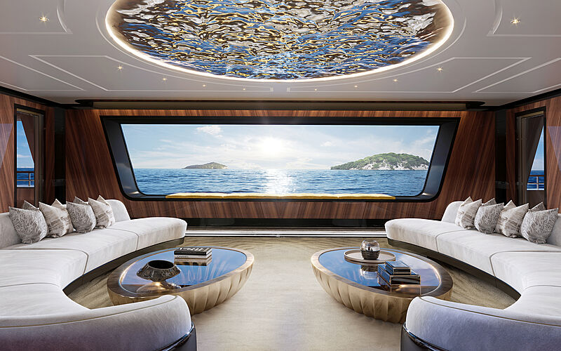 Ultra2 yacht concept by T. Fotiadis Design interior design