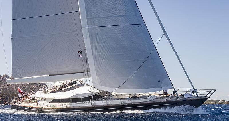 Clan VIII yacht cruising