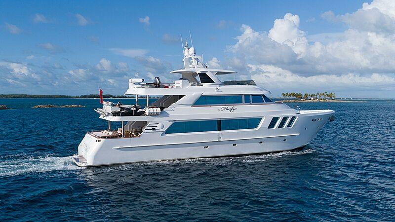 Hiatus yacht cruising