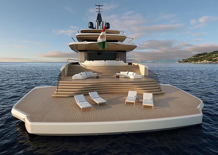 Nauta Dune 75m yacht concept