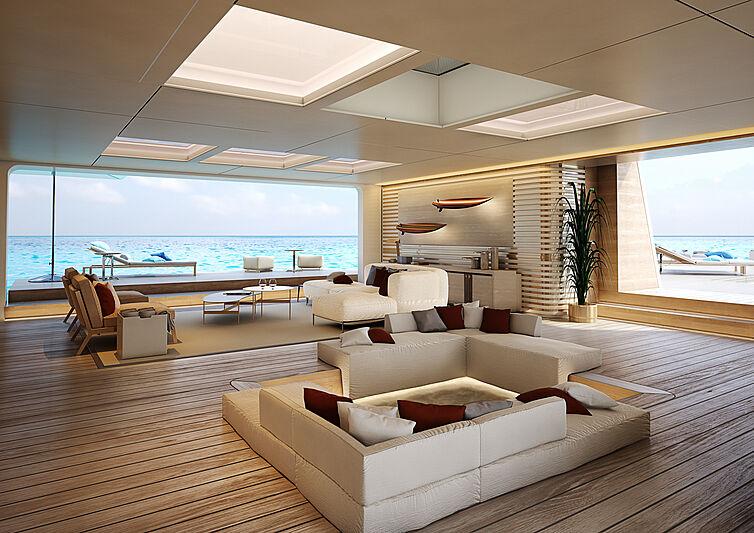 Nauta Slipstream 78m yacht concept